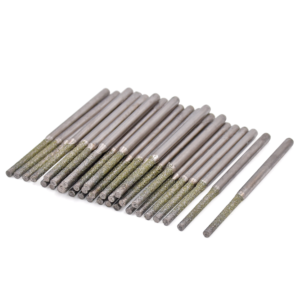 10pcs Diamond Coated Drill Bit For Dremel Tools Accessories Diamond Drill Bits 0.8/1.0/1.2/1.5/1.8mm For Glass Marble cnbtr 10pcs 3 48mm diamond coated hole