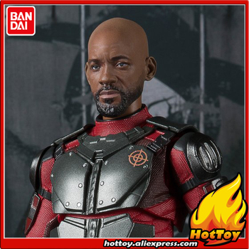 "100% Original BANDAI Tamashii Nations S.H.Figuarts (SHF) Exclusive Action Figure - Deadshot from ""Suicide Squad"""