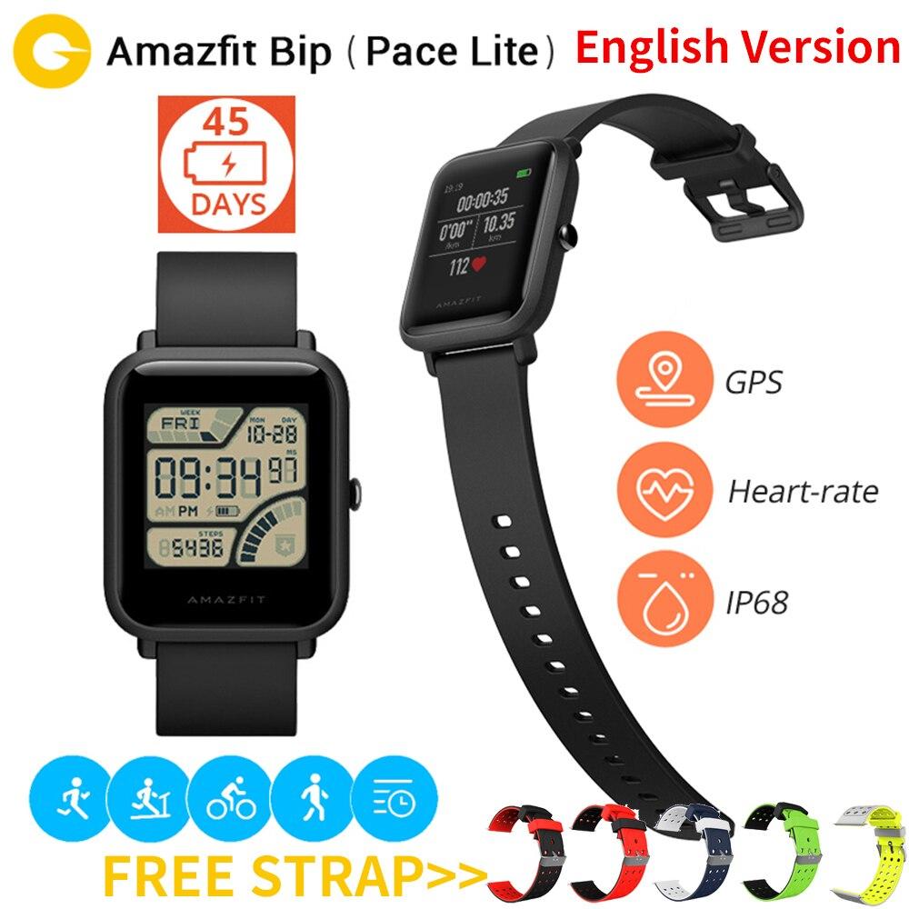 Xiaomi Amazfit Bip Sport Montre Intelligente Huami GPS Smartwatch [Version Anglaise] Bluetooth4.0 Moniteur de Fréquence Cardiaque GPS 45 Jours En Veille