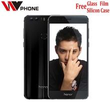 "WV Original Huawei Honor 8 4G LTE Mobile Phone dual camera Octa Core Android 6.0 5.2"" FHD 1920*1080 4G RAM 64G Fingerprint NFC"