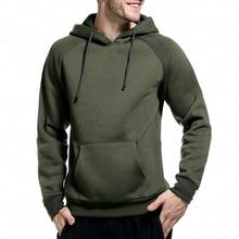 Men Brand Casual Hoodies Sweatshirt Solid Color Print Trend Fleece Cotton Pullover Coat Warm Clothes Factory Outlet