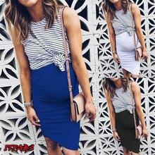 Hirigin модные юбки без рукавов для беременных женщин; повседневные юбки для мам