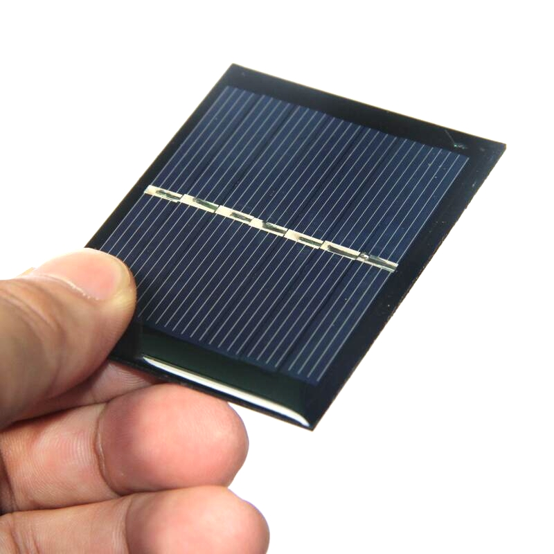 Hot 50 Pz/lotto 0.45 W 3.5 V Mini Pannello Solare Policristallino Celle  Solari FAI DA TE Giocattoli Solari/Piccole Applicazioni Di Potenza  Spedizione ...