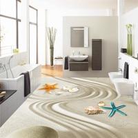 Beibehang ריצוף HD ציור קו חול אמנות ביו מעובה tapety 3d טפט מודרני מרפסת מטבח חדר אמבטיה עמיד למים