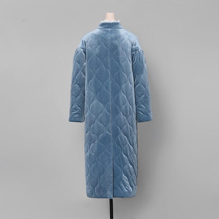 Manches Style Ceinture O Casual Offre Picture Color Épais D'hiver Chaud Outwear cou Parka Mode Nouvelle Manteau 2018 Femmes C3172 Avec Pleine Spéciale Longues ITxP0q0