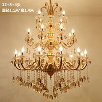 Longree New Modle Art Decor Creative Lamp Dining Room Pendant Chandelier Table Candle Chandelier Modern Crystal