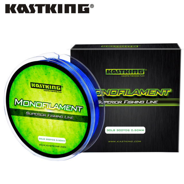 KastKing 275m 4LB-30LB Nylon Fishing Line Japanese Material Monofilament Lines Carp Fishing Goods for Fishing for Saltwater