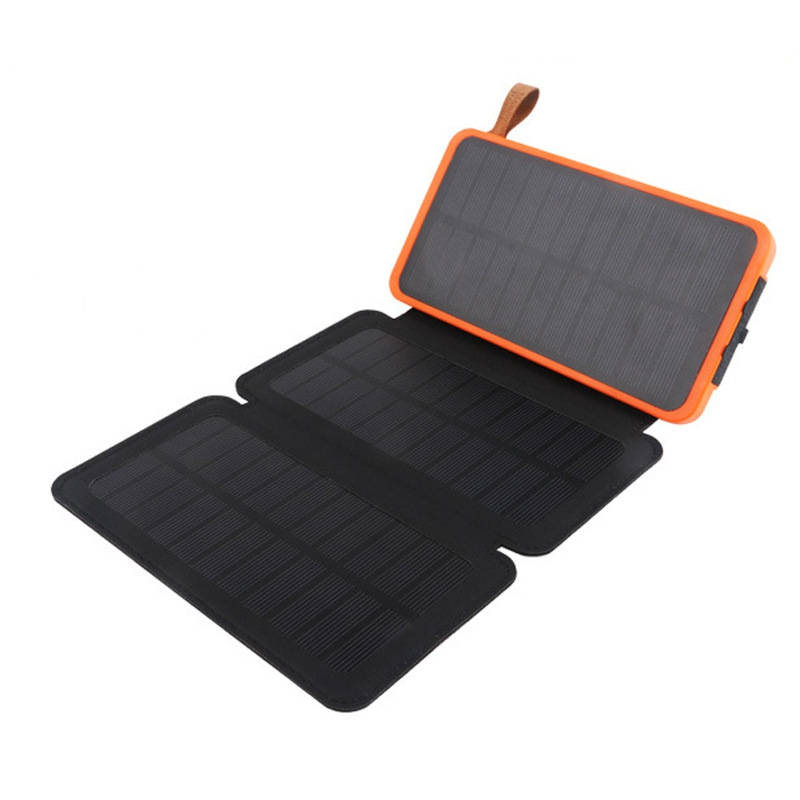 где купить 4W/6W Solar Power Bank Foldable Solar Panel Portable Charger External Battery Universal Powerbank For iPhone For Xiaomi Phones дешево