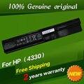 Frete grátis qk646ut bateria do laptop original para hp probook 4330 s 4331 s 4430 s 4431 s 4435 s 4436 s 4440 s 4441 s
