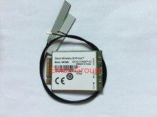 シエラワイヤレスロック解除 EM7305 + 2 個 4 グラムアンテナ gobi5000 FDD LTE/EVDO/DC HSPA + WWAN Netwwork カード、モバイルブロードバンド新オリジナル