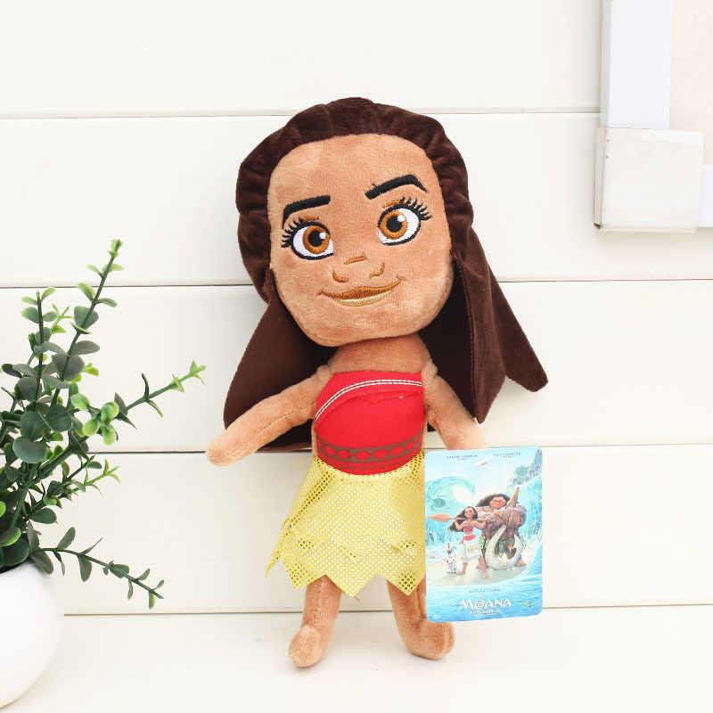 20 cm film Moana princesse Maui jouets en peluche Moyana Hei Pua poupée en peluche cadeau de noël Anime jouet figurines pour enfants Mo Ahna Mona