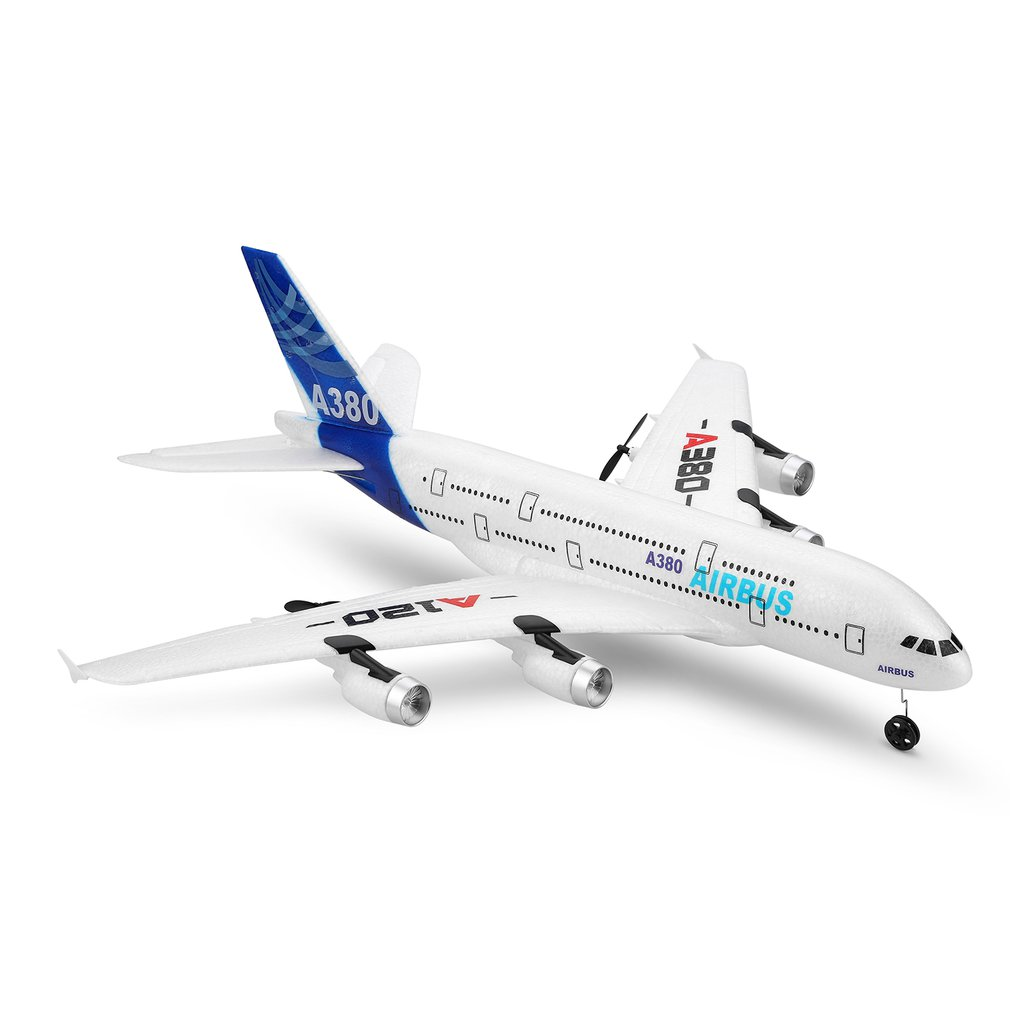 A120-A380 Airbus 2.4GHz 3CH RC Airplane Fixed Wing Drone Aeromodelling Remote Control Aircraft Six-axis Flight Toys image