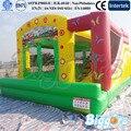 Por mar criança inflável casa do salto inflável slides