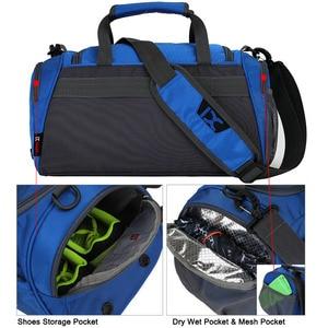 Image 2 - Training Gym Bags Fitness Travel Outdoor Sports Bag Handbags Shoulder Dry Wet shoes For Women Men Sac De Sport Duffel  XA77WA