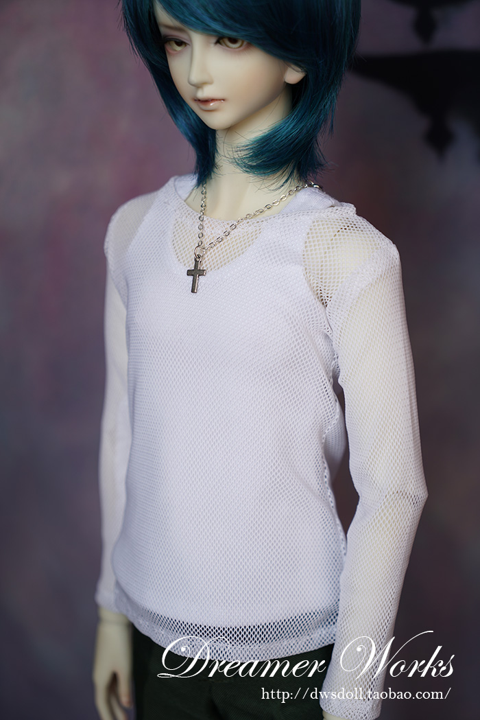 1/4 1/3 Scale Bjd Clothing Accessories Mesh Top+vest Suit For Bjd/sd Doll,not Included Doll,shoes,wig,and Other Accessories 1252 Easy To Use