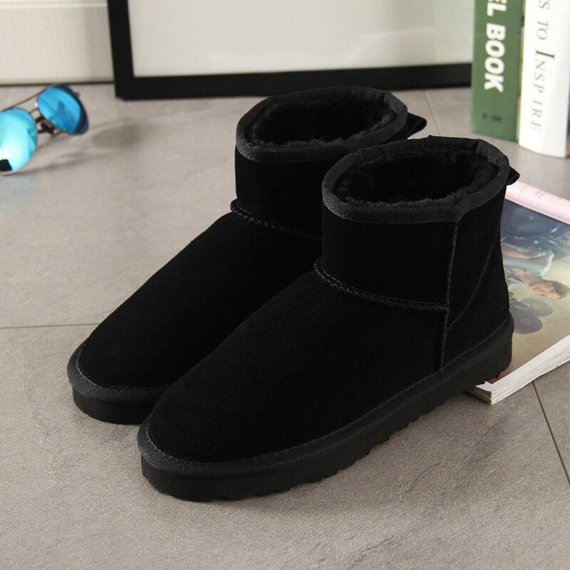 a91e29114 Begocool moda mujer botas de invierno zapatos de nieve para las niñas  barato botas Castaño gris marino BE54 15 en Botas de nieve de Zapatos en ...