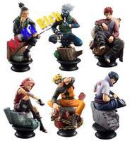 Collections Anime Naruto Figure Toy Figurine Status 6pcs 10cm