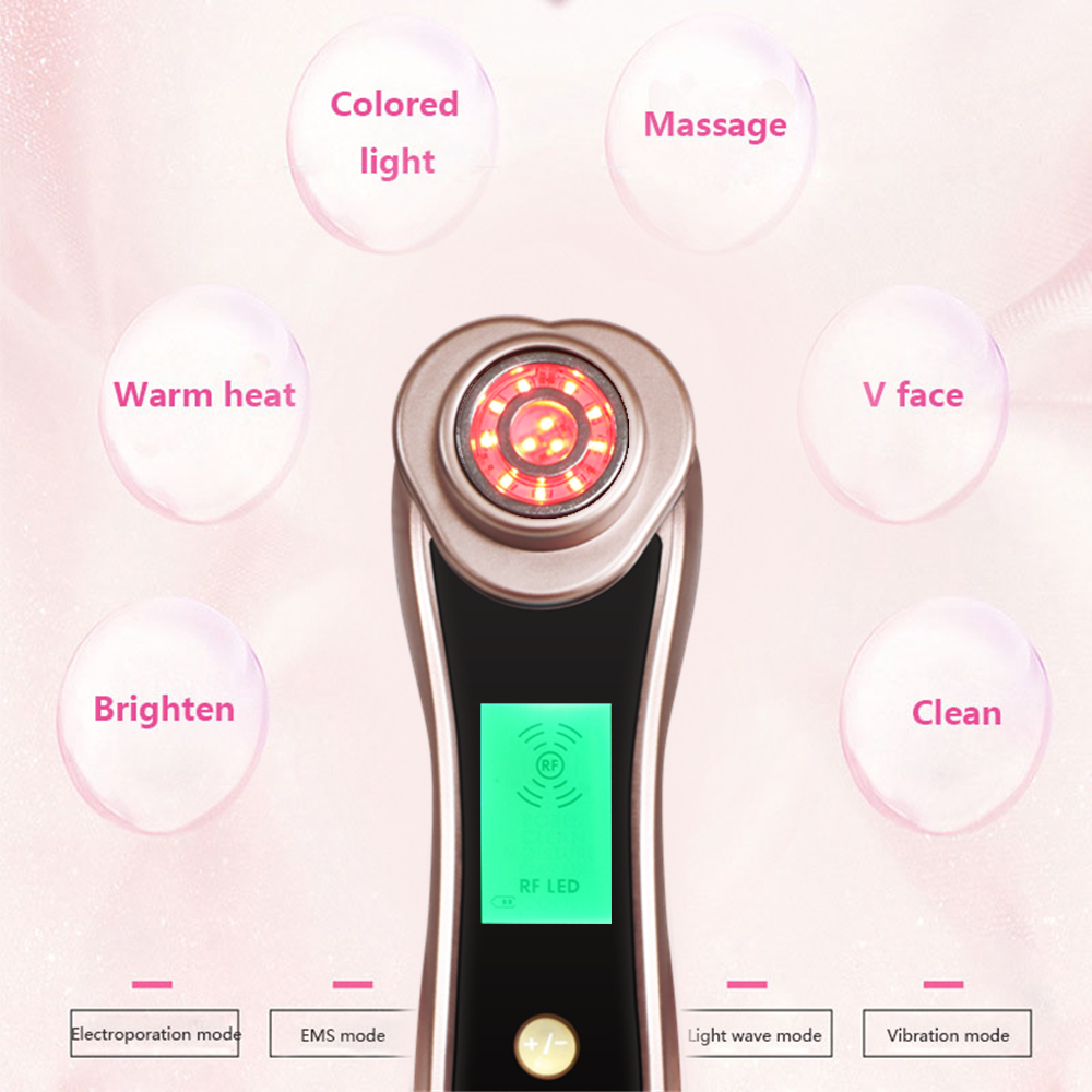 Skin care Rf EMS Radio Frequency Electroporation Needle Free Mesotherapy instrument Mesoterapia Facial mesotherapy needle device skin needle single