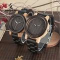 Деревянные часы BOBO BIRD L-N14 для пар  часы из 100% натурального дерева для мужчин и женщин  рождественский подарок