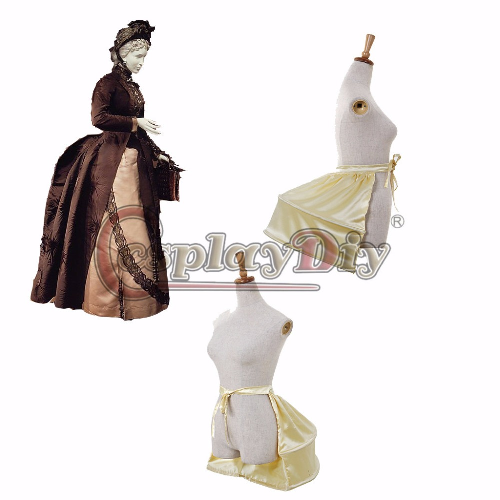 Civil War Dress Crinoline Afternoon Dress Underskirt Petticoat Girl
