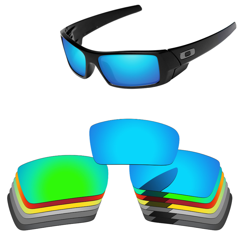 PapaViva POLARIZED Replacement Lenses for Authentic Gascan Sunglasses 100% UVA & UVB Protection - Multiple Options