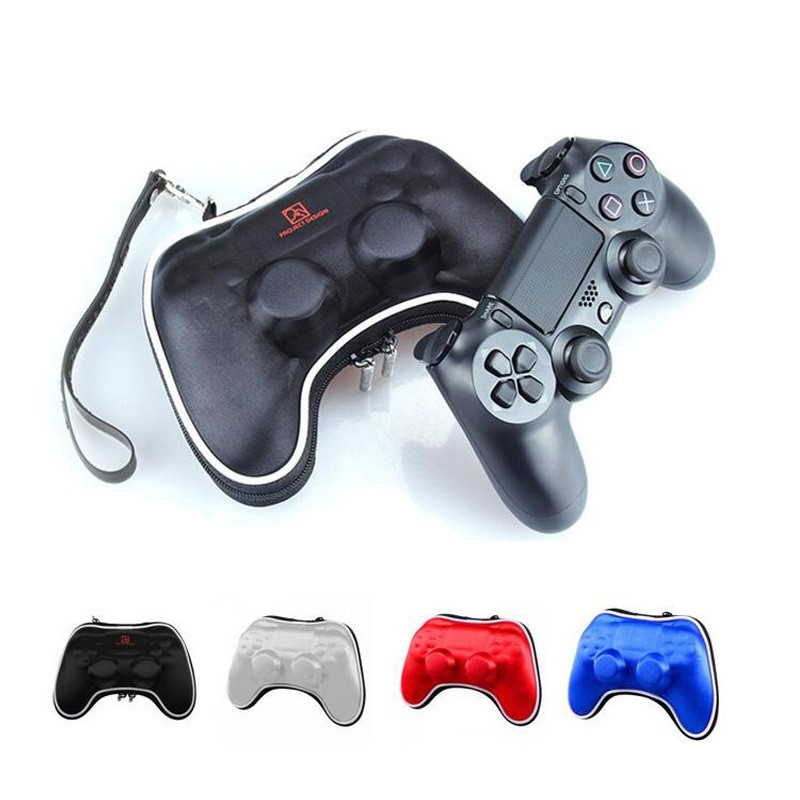Travel Carry Pouch Case Bag For Sony PS4 Playstation Play Station PS 4 Controller Gamepad Joypad Accessory w/ Wrist Strap