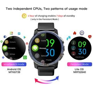 Image 2 - Смарт часы KOSPET Optimus Pro, 3 ГБ, 32 ГБ, Android 7,1, две системы, 800 мАч, камера, Wi Fi, GPS, 4G, Smatwatch, телефон для IOS, Android