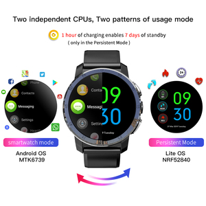 Image 2 - KOSPET Optimus Pro 3GB 32GB  Smart Watch Android7.1 Dual Systems 800mAh Camera WIFI Sport GPS 4G Smatwatch Phone For IOS Android