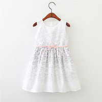 Y71233640 2018 New Summer Baby Girls Dress Print Butterfly Fashion Girl Dress Girl Princess Dress Baby