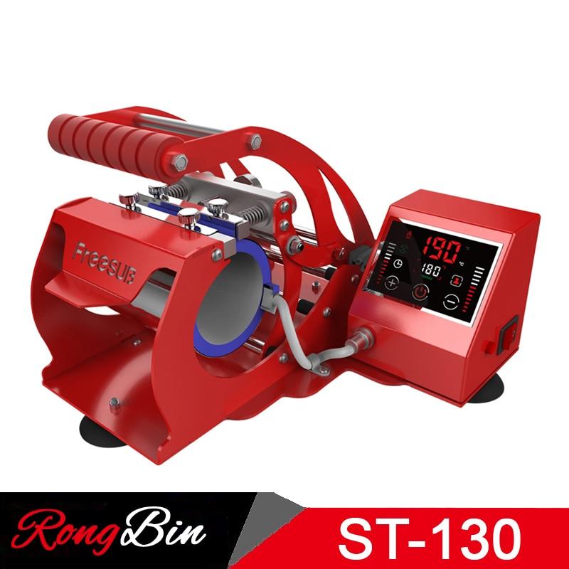 New Arrival ST-130 LED Touch Screen Mug Press Machine Sublimation Mug Heat Press Machine for 11oz Mugs Cups Sublimation Printing 1 pcs 38 38cm small heat press machine hp230a
