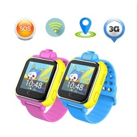 Kids 3G Smart Watch with Camera GSM GPRS WIFI GPS Locator Tracker and SIM Card Slot Wristwatch for Android IOS