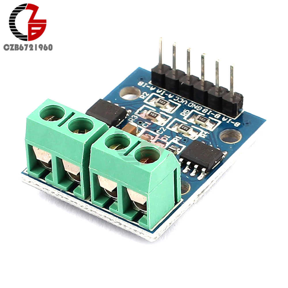 H-bridge Stepper Motor Dual DC Motor Driver Controller Board HG7881 For  Arduino