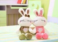 75 cm mignon véritable amour de lapin en peluche poupée, en peluche lapin de pâques en peluche jouet, lapin en peluche poupée fille cadeau