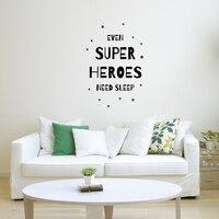 Kids Jongen Slaapkamer Muur Art Superheroes Canvas Print en Poster Nursery Decor