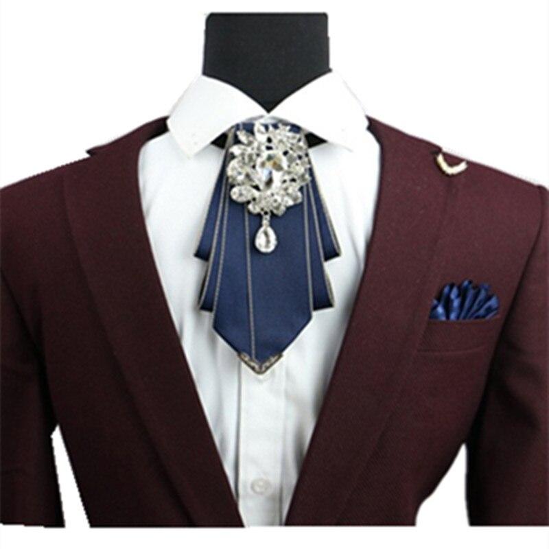 all'avanguardia dei tempi scarpe da corsa vari design Abiti da cerimonia uomo groomsmen diamante arco cravatta da ...