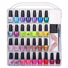 MAKARTT Professional Nail Polish Holder for 60 bottles with Large Separate Compartment for Tools F0683