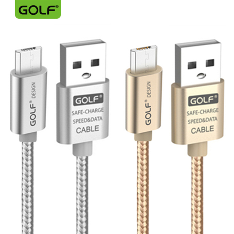 GOLF 3m Micro USB Data Sync Charger Cable For Samsung S4 S6 S7 Edge Redmi 4X 5 Plus 5A 6 Pro Note5 Android Phone Charging Cables