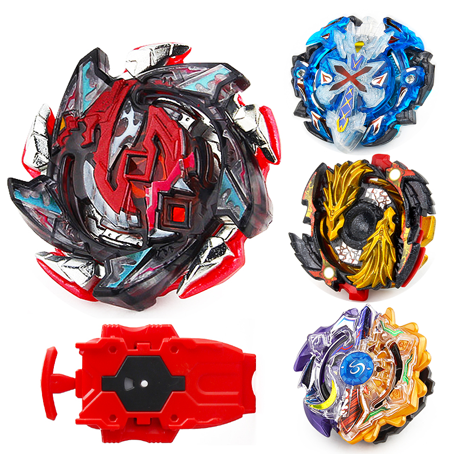 Beyblade Burst Set di Auto-assemblaggio Toupie Arena Beyblade di Fusione del Metallo Giocattoli Launcher Bayblade Spinning Top Bey Blade Starter Kit