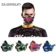 GLORSUN маска для мотоцикла из неопрена n99 Пылезащитная pm2.5 маска для велосипедного велосипеда против запаха тумана n95 бактериальная пыльца дыхательная маска