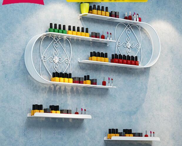 Présentoir à ongles fer vernis à ongles rack tenture murale en forme de U colle à ongles présentoir à ongles support mural