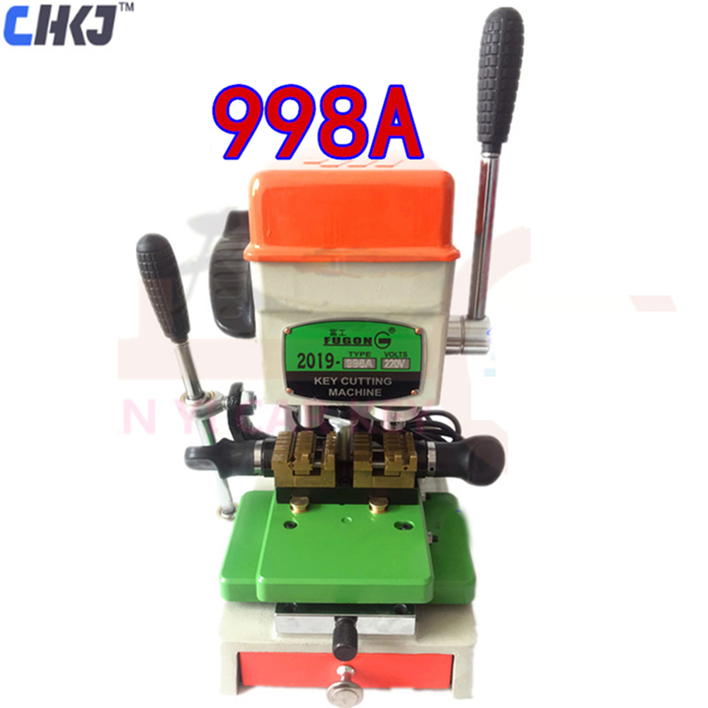 CHKJ 998A GOSO Universal Vertical Key Cutting Machine Lock Pick Set For Locksmith Tool Duplicate Key Machine