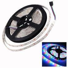 12 V Strip Led Light Tape SMD 5050 RGB Waterproof 5M DC 60LED/M RGB Led Strip Tape Lamp Diode Ribbon Fleible 5630 For Xmas Party 12 v strip led light tape smd 2835 rgb waterproof 1m 5m dc 12v 60led m rgb led strip tape lamp diode flexible for tv backlight