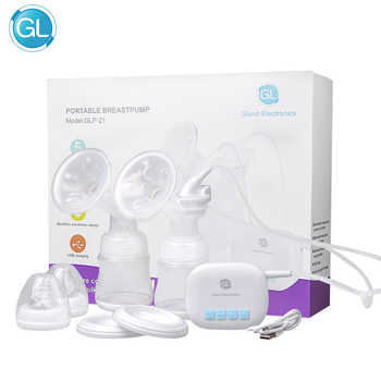 GL Electric Double Breast Pump Portable Automatically Breast Milk Suction Device - DISCOUNT ITEM  51% OFF All Category