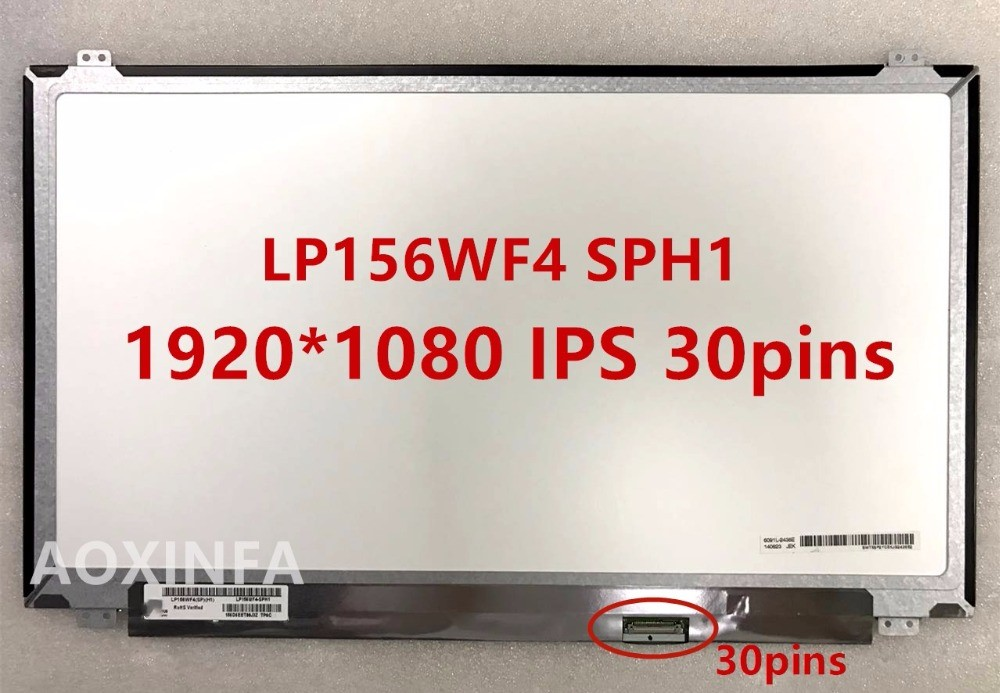 Free Shipping New original LP156WF4 SPH1 IPS screen 1920 * 1080 LED 30pins phil collins singles 4 lp