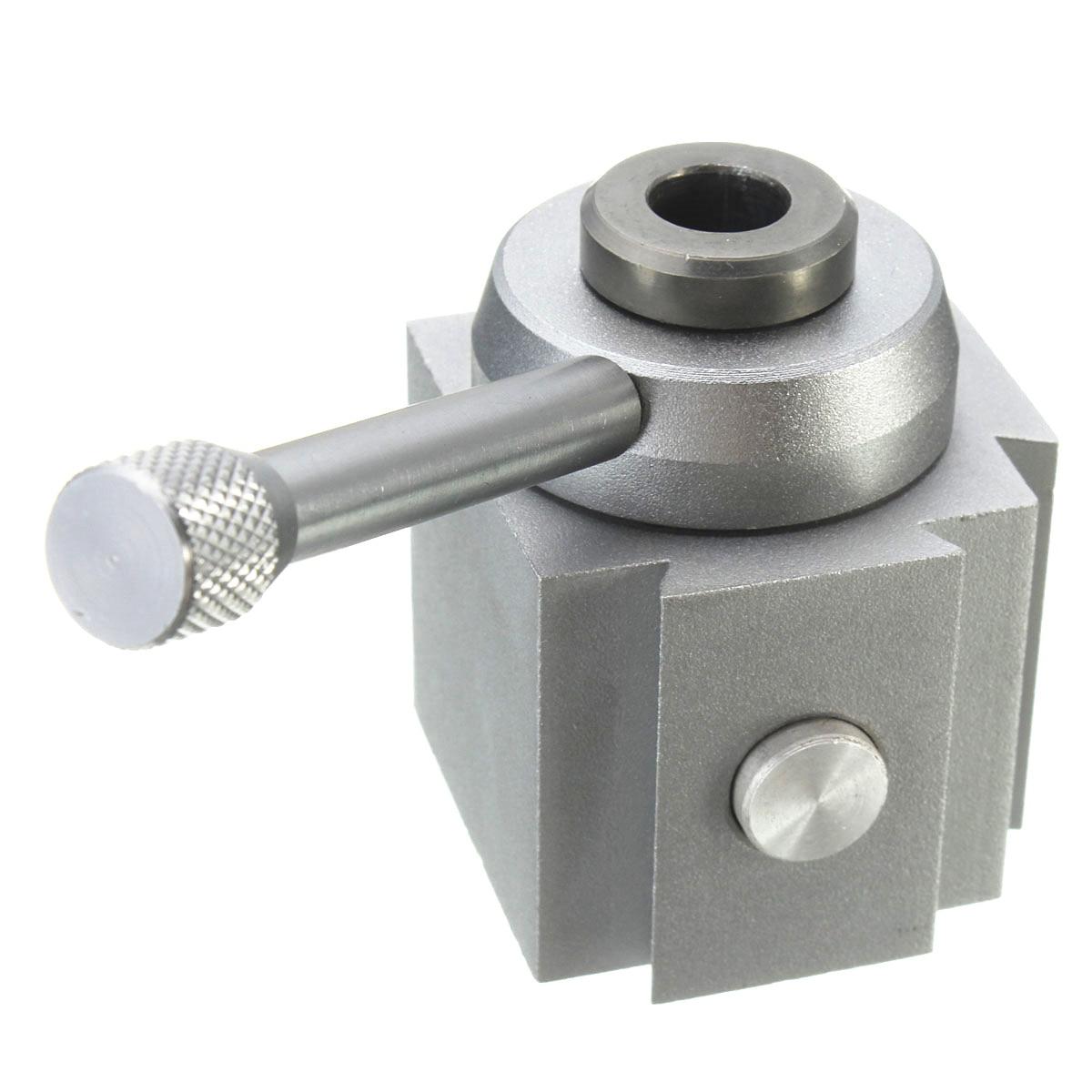 "Mini Aluminum Quick Change Tool Post Holder Kit Set for 7/""x10/""// 12/""//14/"" Lathes"