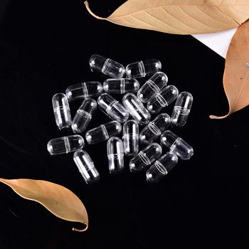 20 sztuk paczka 10mm leki na podróż futerał na pigułki uchwyt do przechowywania biały żelatyna puste kapsuły puste kapsułki żelatynowe puste kapsułki pigułki tanie i dobre opinie JETTING Plastic Gelatin Capsules