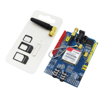 Free Shipping 1PCS LOT SIM900 GPRS GSM Shield Development Board High Quality