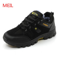 MEIL Winter Shoes Men 2018 Warm Snow Boots Men Shoes Footwear Fashion Sneakers Ankle Boots Mens