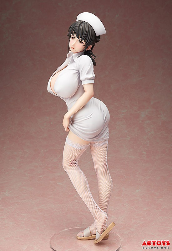 Hot FREEing 110 Sanfujinka Shikeishuu Byouin Jack Mami Akabane 1/4 Scale Painted Figure Nurse Skirt Sexy Figurine Toys