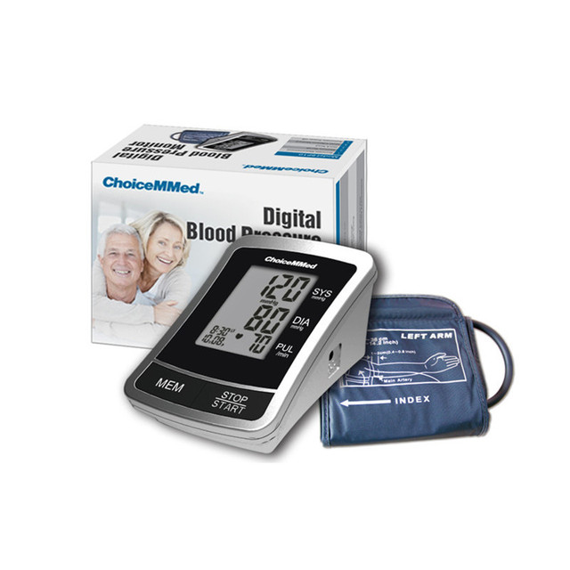 1pcs ChoiceMMed Automatic Digital Arm Type Blood Pressure Monitor,Free Carrying Bag Free Shipping BP10